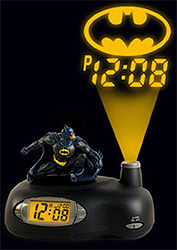 Batman Projection Clock