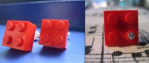 Dead Cool LEGO Ring and Cufflinks