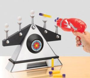 Hovering Target Shooting Game