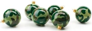 Camouflage Christmas Tree Decorations