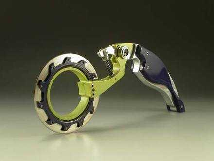 Pizza Cutter for Bikers