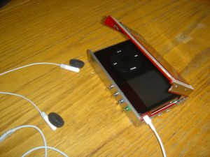 iPod Walkman Open