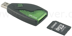 USB Memory Card Unlock