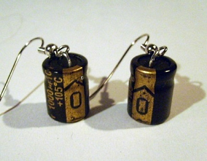 capacitor-earrings