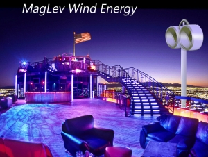 Our inspiring examples: Mag-wind vertical axis wind turbine