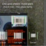 iPhone App allows Barcode Scanning
