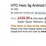 HTC Hero Coming to the UK on 15th July
