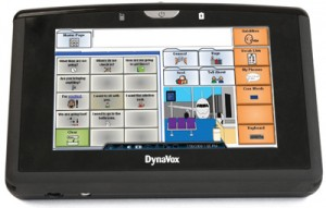 dyna xpress 300x191 DynaVox Xpress Handheld Communication Device
