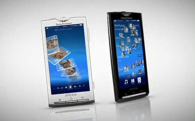 Sony Ericsson XPERIA X10 Video