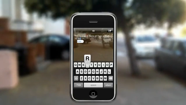 Type-and-Walk-iPhone-App