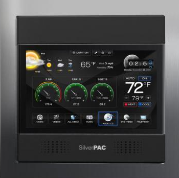 Silver STAT 7 front SilverSTAT 7 Advanced Thermostat with In Home Display