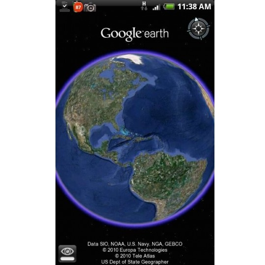 Google-earth android