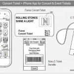 "Apple Patent shows ""Concert Ticket +"" Application"