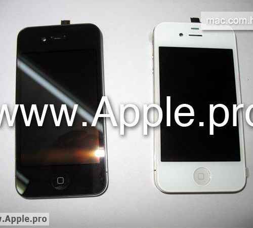 apple iphone 4g white. White Apple iPhone 4G Spotted