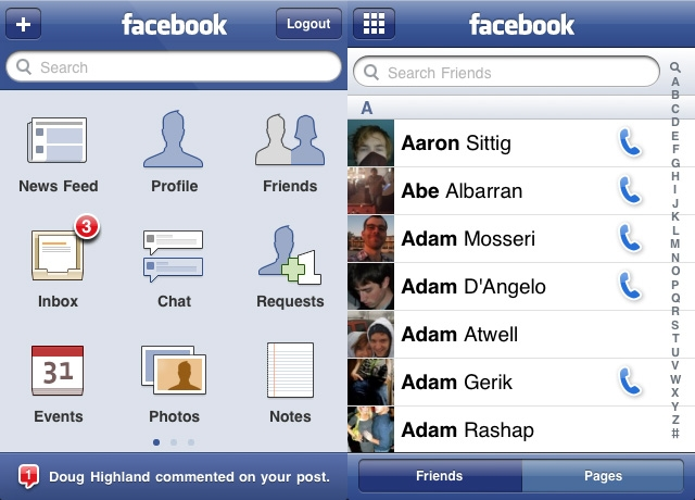 Facebook for iOS 4 Now Includes Fast App Switching ...
