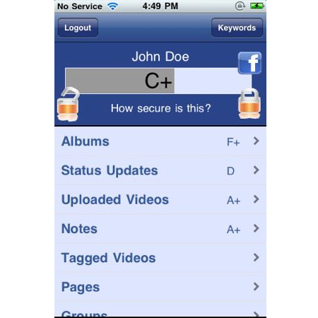 how to change privacy settings on facebook mobile
