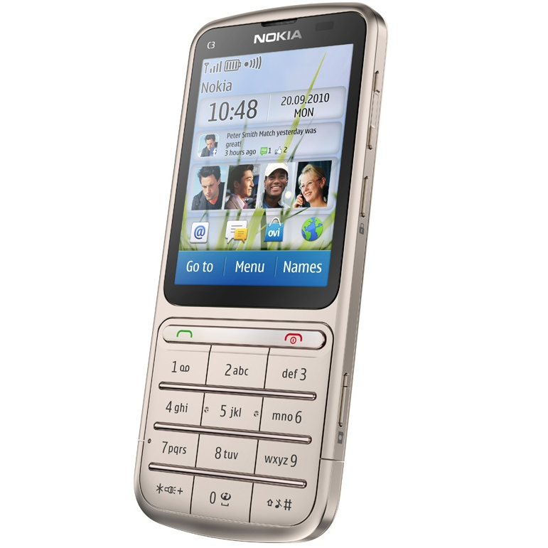 nokia x3 touch. the Nokia C3 touch and