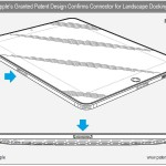 Apple iPad Design Patent Shows Landscape Dock Connector