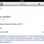 AirPlay for Safari and Third-party Apps Landing 2011