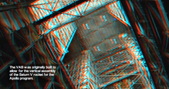 NASA's Vehicle Assembly Building (VAB) in 3D - Mobile Venue