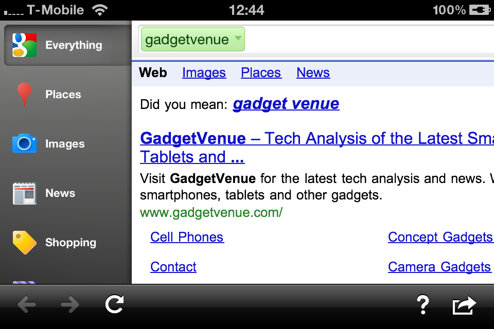 Google Search App for iPhone and iPad Updated