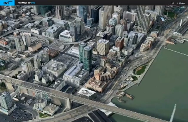 Ovi Maps 3D Goes Live in 20 Countries