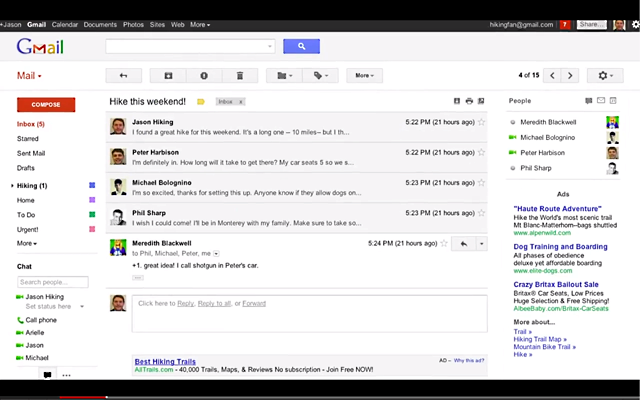 Gmail Redesign Leaked by Google