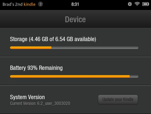 Amazon KINDLE FIRE UPDATE Download Now Available