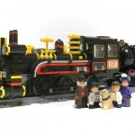 Lego Back to the Future Train Time Machine