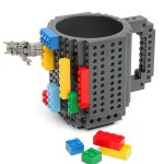 Lego Inspired Build-On Brick Mug